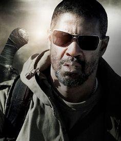 Denzel Washington wearing Oakley Inmate in The Book of Eli