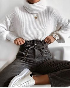 trendy outfits for summer ; trendy outfits for school ; trendy outfits for women ; Fashion Mode, Look Fashion, Autumn Fashion, Womens Fashion, Fashion Spring, Lifestyle Fashion, Fashion Brands, Christmas Fashion, Cheap Fashion