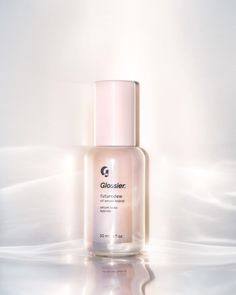 "Glossier has introduced its latest skin-care product, Futuredew. Its an oil-serum hybrid that's designed to create Glossier's ""your skin, but better"" look in one bottle. Glossier Futuredew launches on October Glossier Launch, Glossier You, Glossier Moisturizer, Best Glossier Products, Best Makeup Products, Beauty Products, Skin Care Products, Glow, Amigurumi"