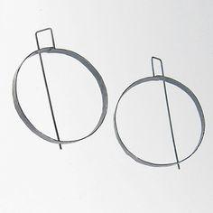 Biba Schutz Circle Earrings at Facèré Jewelry Art Gallery