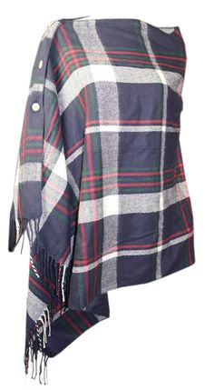 Convertable Plaid Scarf poncho, shawl Blanket scarf, Tartan Scarf, wool  scarf Écharpe Tartan e42bf25c43c