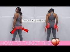 HOW TO TARGET ALL AREAS OF THE BOOTY - THE ULTIMATE GLUTES WORKOUT! - YouTube