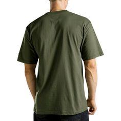 Dickies Men's Big & Tall Short Sleeve Performance Wicking Pocket T-Shirt- Moss (Green) XL Tall, Size: Xlt