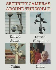 Security Cameras around the World vs India Funny Meme! Funny School Jokes, Very Funny Jokes, Crazy Funny Memes, Really Funny Memes, School Humor, Wtf Funny, Funny Facts, Hilarious, Funny Qoutes