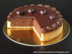 The showcase of Nanni Cheesecake Torta, Sweet Recipes, Cake Recipes, Cooking For Dummies, Gelatin Recipes, Torte Cake, Chocolate Sweets, Sweet Pastries, Italian Desserts