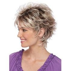 Christa Wig by Estetica Designs is a short, chic style. - Paula Young