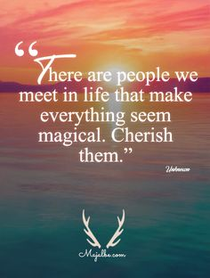 A Magical Feeling Love Quotes