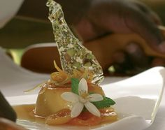 A stylish appetizer served at the Addo restuarant