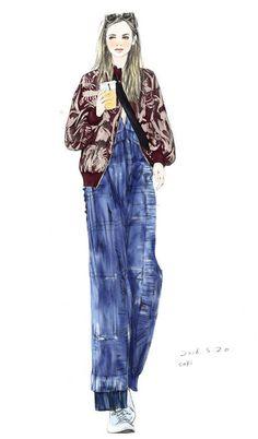 Xunxun Missy Fashion Illustration