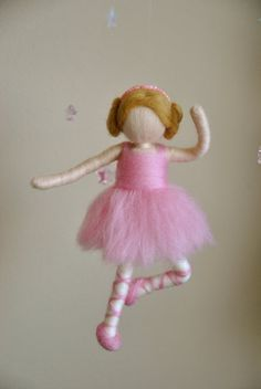 needle felted baby mobile - Google Search