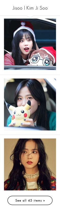 """Jisoo   Kim Ji Soo"" by niisabel ❤ liked on Polyvore featuring Girls, kpop, BlackPink, jisoo, kimjisoo, jewelry, earrings, rose, accessories and blackpink"