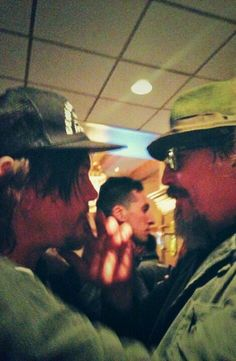Norman Reedus and Tommy Flanagan 4/25/14 #NJ Chiller Theater Expo