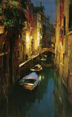 Dmitri Danish - Evening at the Canal