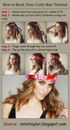How to Rock Your Curly Hair Tutorial