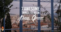 Here are 7 awesome things to do in Athens, Greece. Its architecture has been marked by Roman, Byzantine, and Ottoman civilizations.