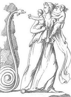 Engravidada por Zeus e sentindo aproximar-se a hora do parto, Leto percorreu o mundo inteiro em busca de um local onde pudessem nascer os gêmeos Apolo e Ártemis. Temendo a cólera de Hera, que proibiu a Terra de acolher a parturiente, nenhuma região ousou recebê-la. Então, a flutuante e estéril ilha de Ortígia, por não estar fixada em parte alguma, não tendo o que temer por não pertencer à Terra, abrigou a amante de