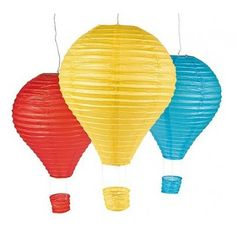 Hot Air Balloon Lantern Set | 3ct $12.45