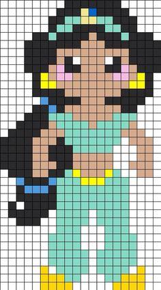 Princess / Jasmine graph pattern