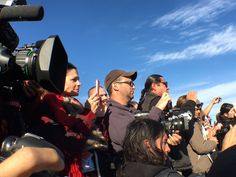 After A Month of Conflict, Mass Media Arrives in Force at Standing Rock - ICTMN.com