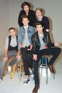 Love these guys! Especially the one in the Jean jacket   ;)