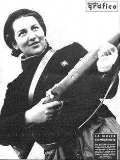 La mujer combatente