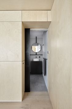 Itinerant Richmond: Micro Apartment Renovation in Melbourne Apartment Renovation, Apartment Design, Studio Apartment, Plywood Storage, Locker Storage, Shoe Storage, Small Apartments, Small Spaces, City Apartments