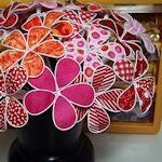 40+ Charming Fabric Flowers To Make: {Free Tutorials} : TipNut.com