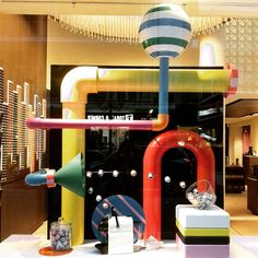 """NESPRESSO BOUTIQUE, Thessaloniki, Greece, """"Introducing the Christmas Range and Taste"""", photo by Maria Pavlidou, pinned by Ton van der Veer"""