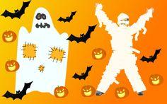 костюмы на хэллоуин: приведение и мумия своими руками
