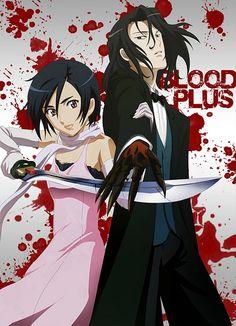Blood+   Saya and Hagi (by RavenHCMS, via Flickr)