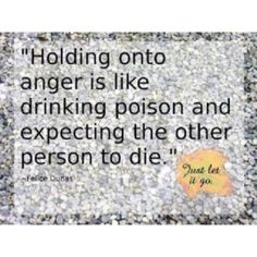 Holding on to anger by Angelic Harmony