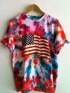 America Tye Dye shirt