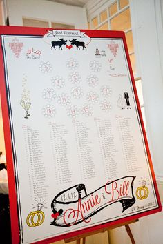 CW Designs Wedding Seating Chart by cwdesigns2010 on Etsy Customizable for any layout/wedding! $270.00
