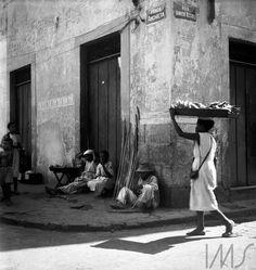 Alice Brill comércio de rua, salvador, 1953