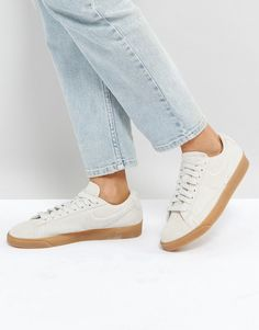 reputable site 4966d ffff2 Nike Blazer Low Trainers In Beige Suede With Gum Sole. Beige SneakersShoes  SneakersBasket ...