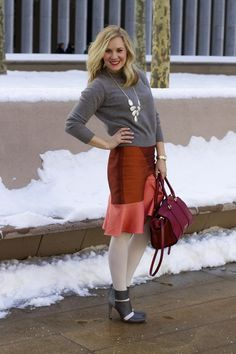 NYFW Day 6 Outfit featuring @kendrascott @ostwaldhelgason @solesociety & @burberry!