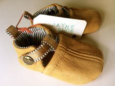 Jayne Toddler Leather Soft Sole Shoes. $48.00, via Etsy.
