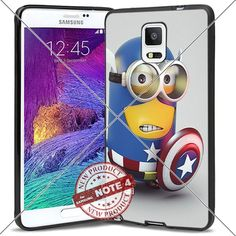 New Samsung Galaxy Note4 Case Captain America Minion Cute Cell Phone Case Shock-Absorbing TPU Cases Durable Bumper Cover Frame Black Lucky_case26 http://www.amazon.com/dp/B018KOQ6CI/ref=cm_sw_r_pi_dp_YnMxwb1YK3Y70