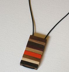 Wood Jewelry Designs | Modern Wood and Brass Jewelry by Jason Lees Design in style fashion ...