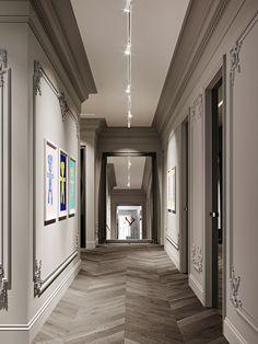 European Home Decor, Classic Home Decor, Classic Interior, Classic House, Classic White Kitchen, Lobby Interior, Hallway Designs, Beautiful Interior Design, Luxury Apartments