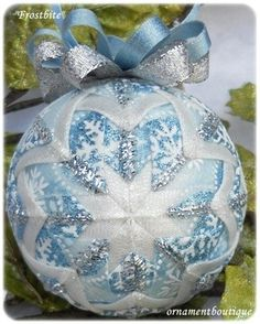 Snowflake Ornament by Ornament Boutique