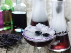 23 To-Die-For Halloween Cocktails - Black Magic Cocktail for my party!