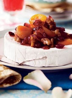 Julefrokost for pigerne Tapas, Nutella, Brie, Camembert Cheese, Brunch, Desserts, Christmas, Recipes, Food
