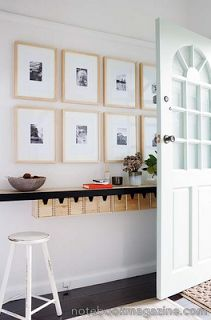 tear sheets: long narrow entryways