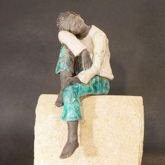 Blandine Destouches sculpture raku métal touraine | SCULPTURES