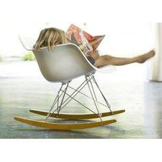 Chaise à bascule Eames RAR 1950 - Vitra