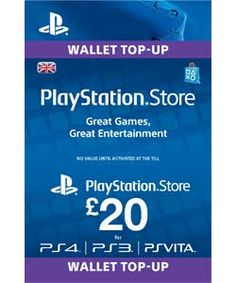 Buy Sony Playstation Network Card - £20 at Argos.co.uk, visit Argos.co.uk to shop online for Playstation Plus and network cards