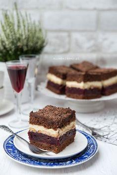 Mirabelkowy blog: Ciasto z wiśniami z nalewki Tiramisu, Cooking, Ethnic Recipes, Blog, Polish, Gardening, Cakes, Polish Recipes, Baking Center