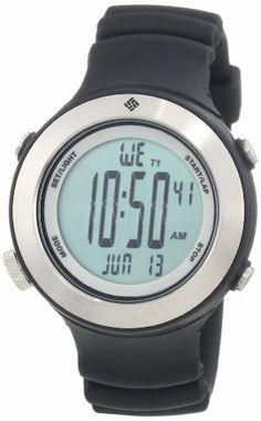 Columbia Unisex CW006005 Tailwhip Black and Silver-Tone Digital Sports Watch Columbia. $55.12. Save 27%!