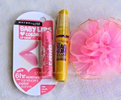 July Haul Maybelline Magnum Mascara Maybelline Baby Lips